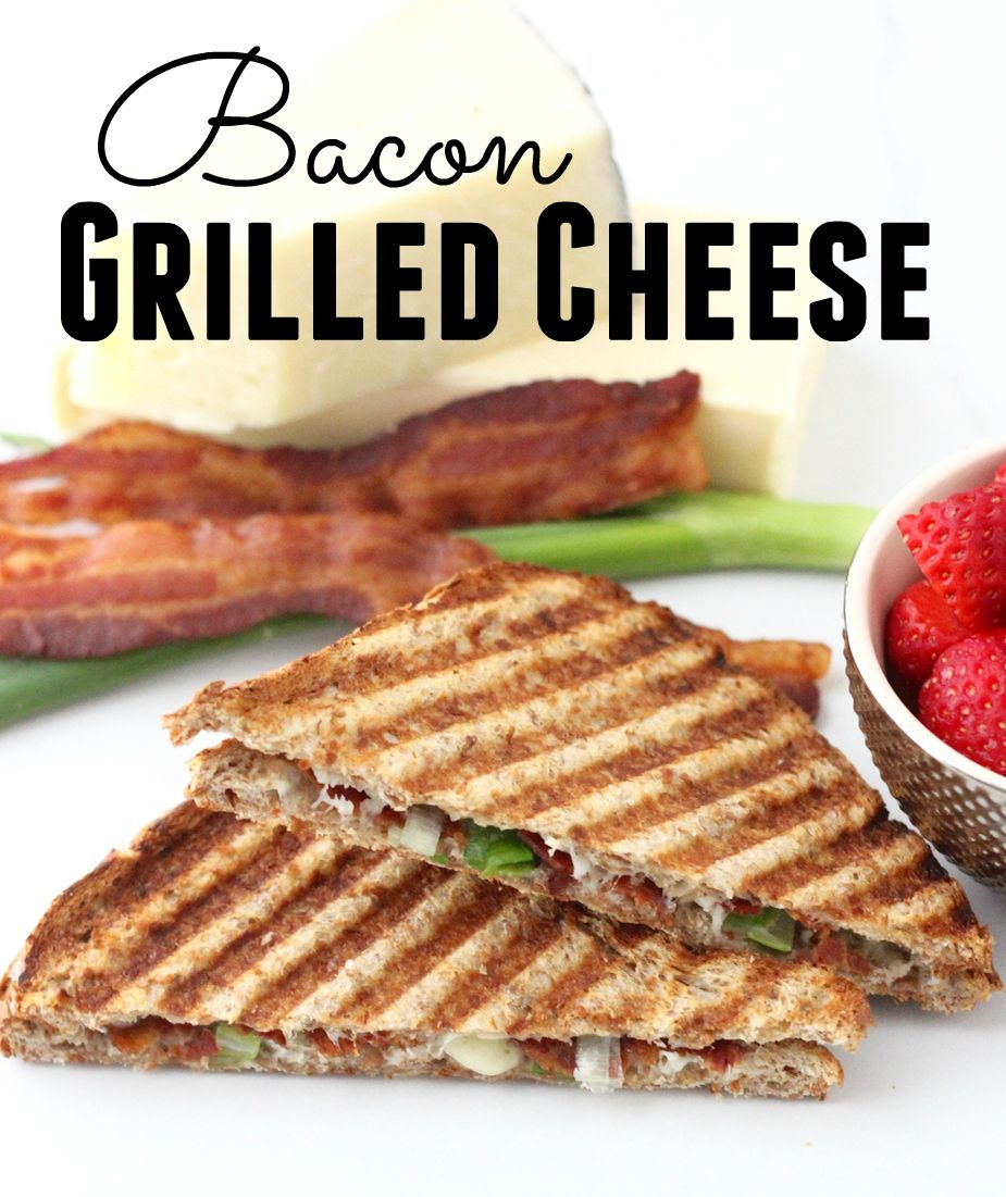 Bacon Grilled Cheese from @MyCookingSpot