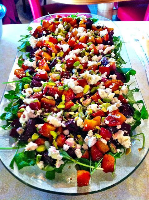 Beets Arugula Goat Cheese Oh My City Girl Country Roots