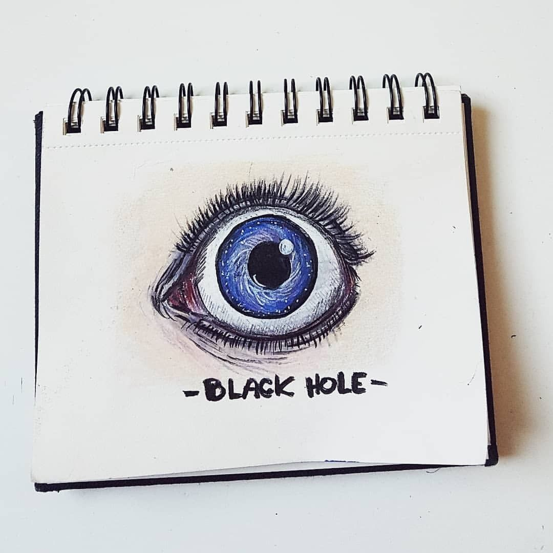 This is a photo of Punchy Starry Eyes Drawing