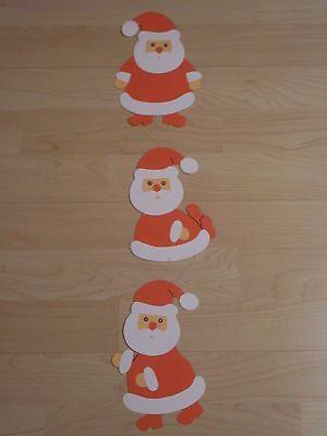 Fensterbild Kette Tonkarton Basteln Winter Weihnachten Weihnachtsmann Neu Fensterbilder Weihnachten Basteln Weihnachtsmann Basteln Basteln Weihnachten