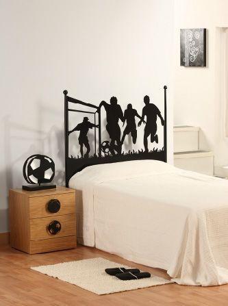 Habitaciones juveniles para hombres de futbol buscar con - Decoracion dormitorios juveniles masculinos ...