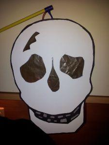 skelet lampion