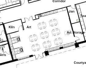 Protsman Elementary School   Design Concepts: Art Room