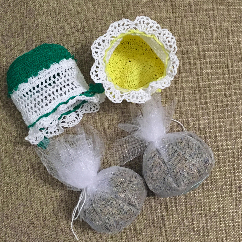 Lavender sachet Set of 2 Aromatic sachets Drawer sachets Scented ...