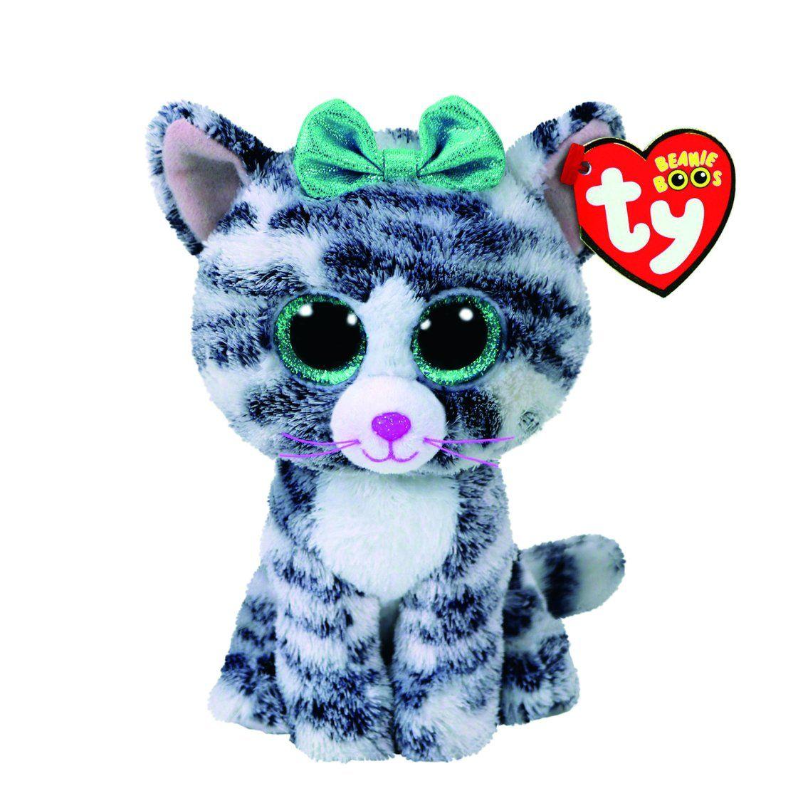 a32ff141f55 TY Beanie Boo Small Quinn the Cat Plush Toy