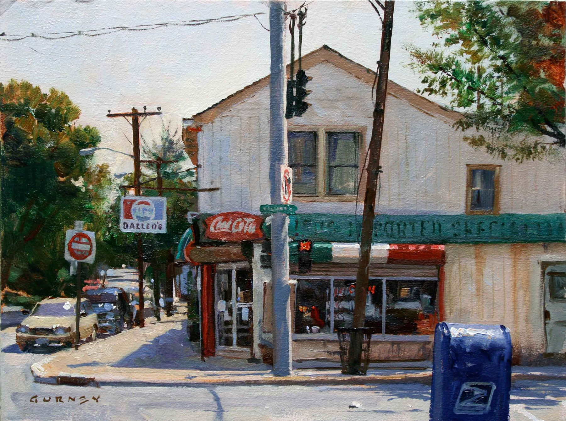 Renew watercolor artist magazine - Art Renewal Center James Gurney Dalleos Deli