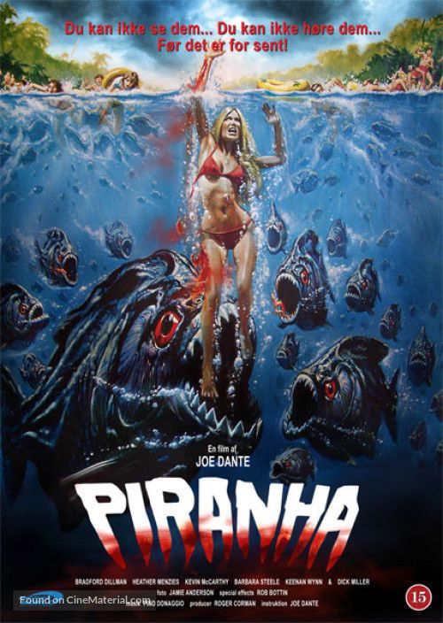 Piranha 1978 All About Horror In 2019 Movie Posters Film