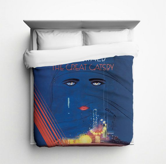 The Great Gatsby Duvet Cover Made In Usa Unique Duvet Covers Duvet Duvet Covers