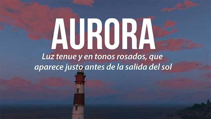 Aurora....... | Weird words, Cute words, Cool words