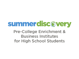 Summer Discovery-More diverse summer opportunities than any other organization, including college credit, enrichment, SAT Prep, internships, business and leadership institutes, and study abroad.