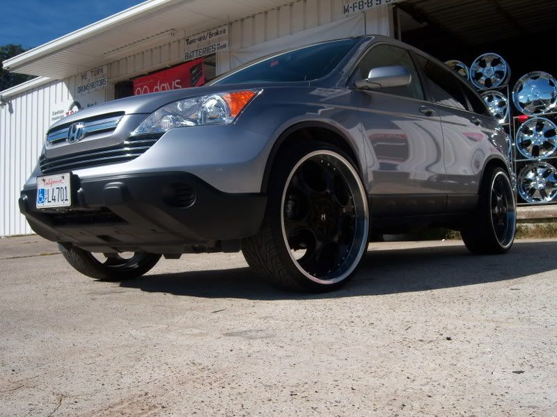 Photo 1 Honda CR V Custom Wheels 24x10.0, ET , Tire Size 275/25 R24. X ET