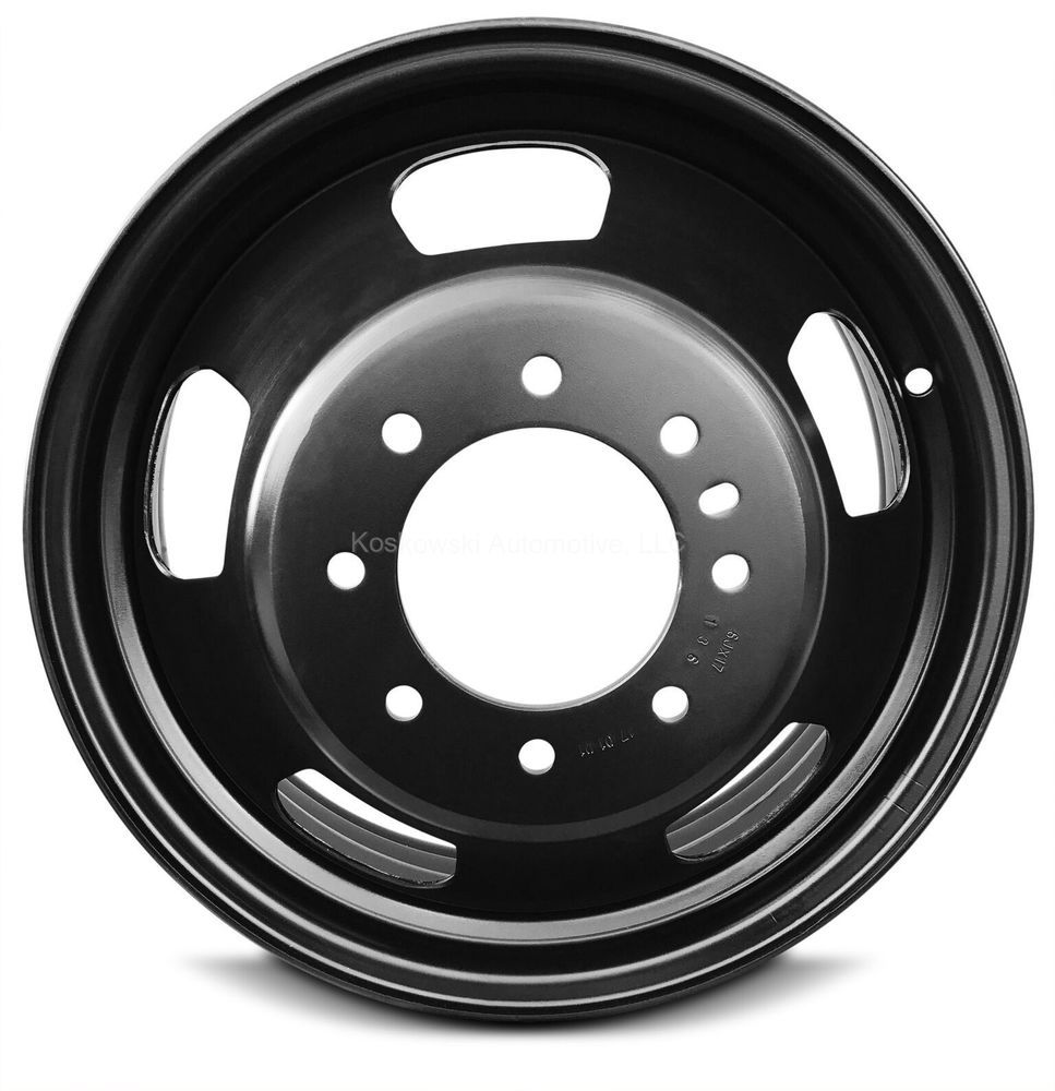 Dodge Ram 3500 New Dually Steel Wheel 17 Inch 06 16 521212678aa 52121267ab Roadready Wheel Rims Dodge Ram 3500 Ram 3500