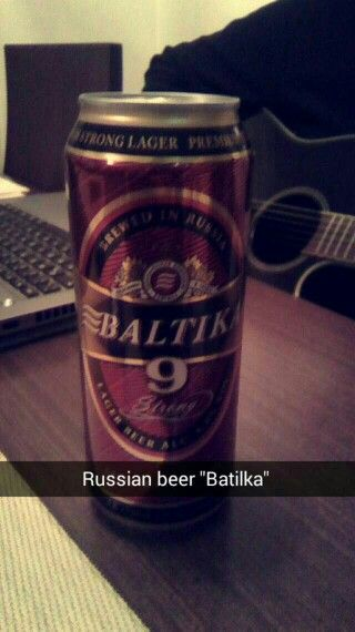 Batilka Russian Beer!