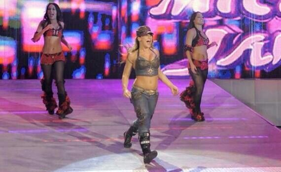 Brie Nikki Bella team up with Mickie James