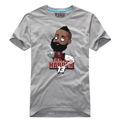 cheap for discount a2d3d 5900d NBA Houston Rockets James Harden Cartoon style t shirt ...
