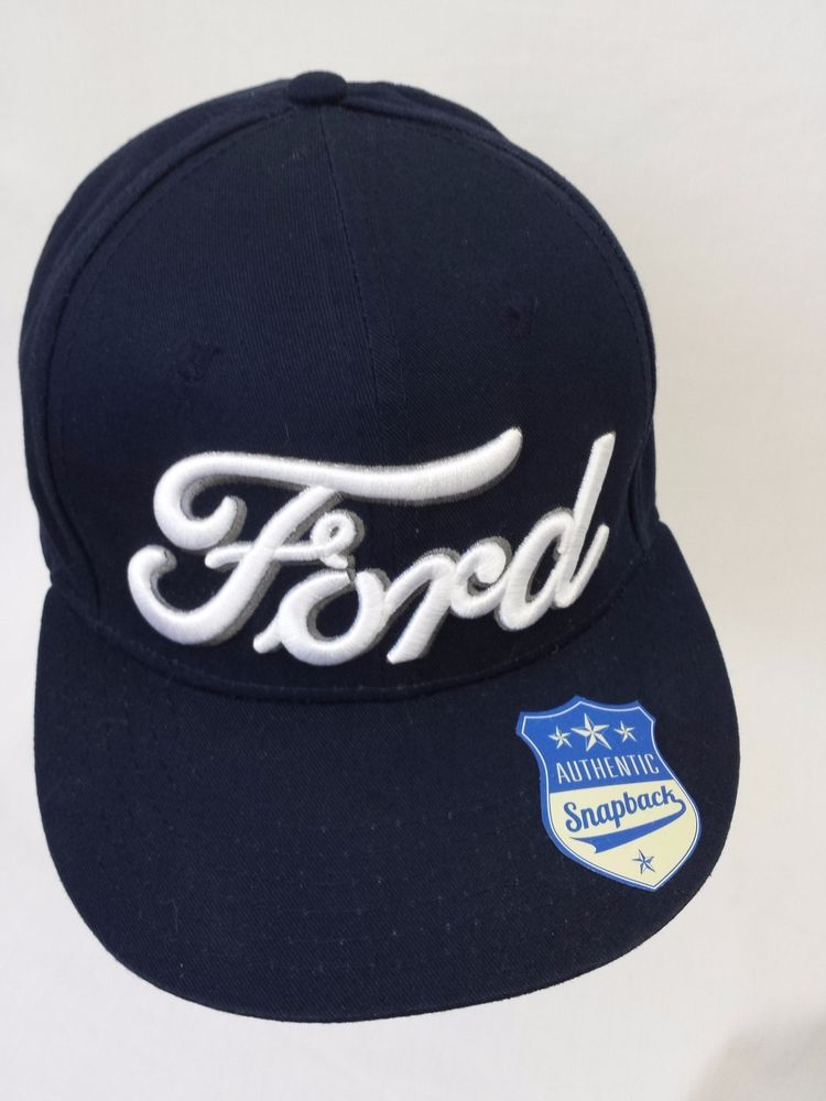 FORD Snapback Hat Navy Blue with White Logo  Ford  Snapback  8455c562bc7