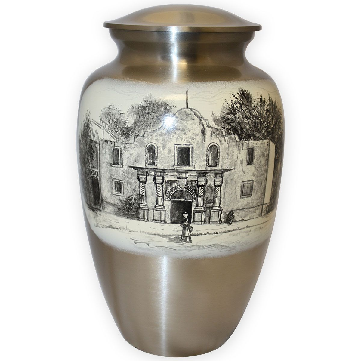 A rustic scene from bygone days is a fitting way to celebrate your loved one.
