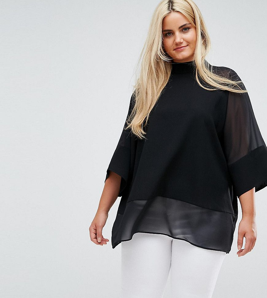 Plus size jacket dress for wedding  PlusSize Sheer and Solid Oversize Tee  Trendy Plus Size Clothing