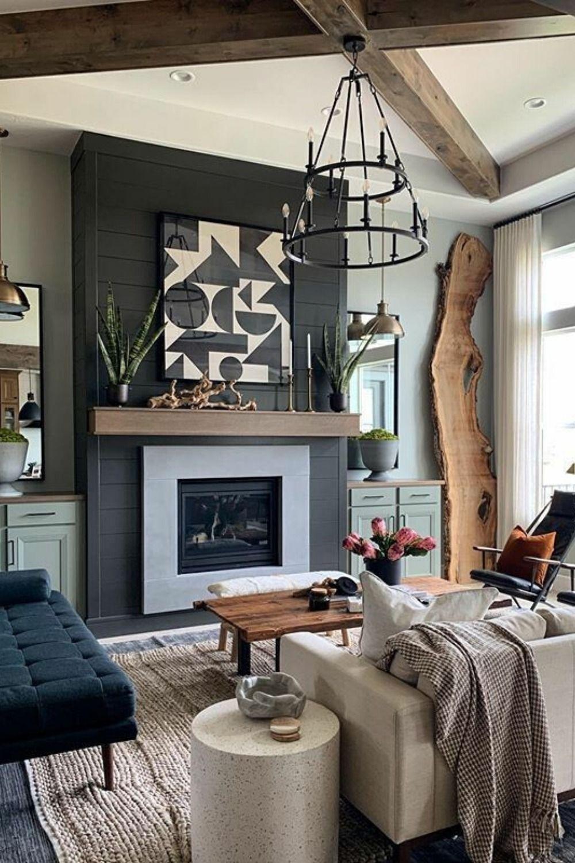Fireplace Mantel Design Ideas In 2020 Fireplace Mantel Des
