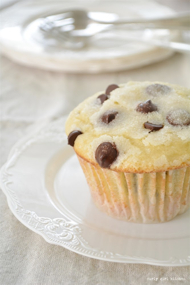 Chocolate Chip Muffins Made With Buttermilk Curly Girl Kitchen Recipe In 2020 Chocolate Chip Muffins Buttermilk Muffins Baking Muffins