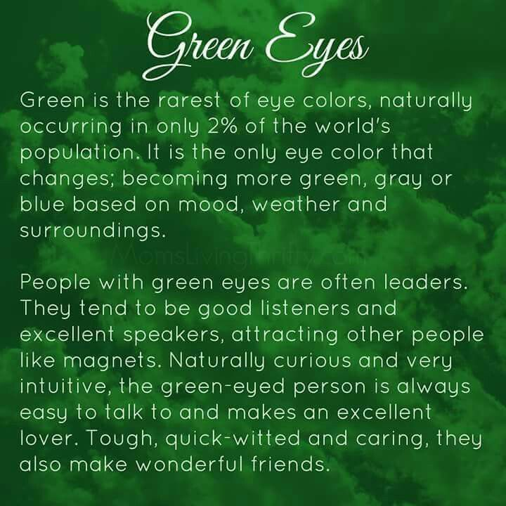 Green eyes | People with green eyes, Green eyes facts, Green ...
