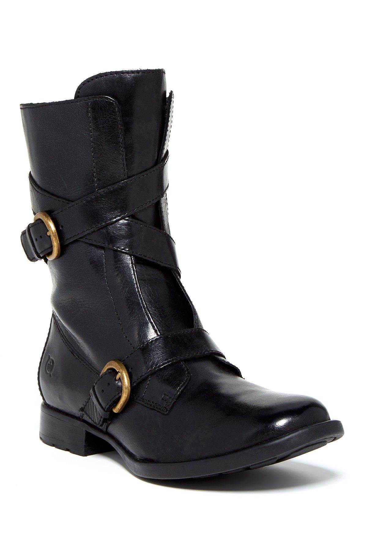 Oxley Buckle Boot by Born on @nordstrom_rack