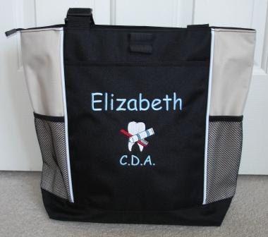 medical appreciation gift RDH dental assistant Personalized dental hygenist Tote Bag,graduation gift