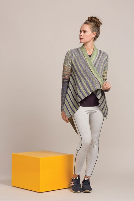 Ravelry: Garter Rectangular Jacket pattern by Annie Modesitt ...