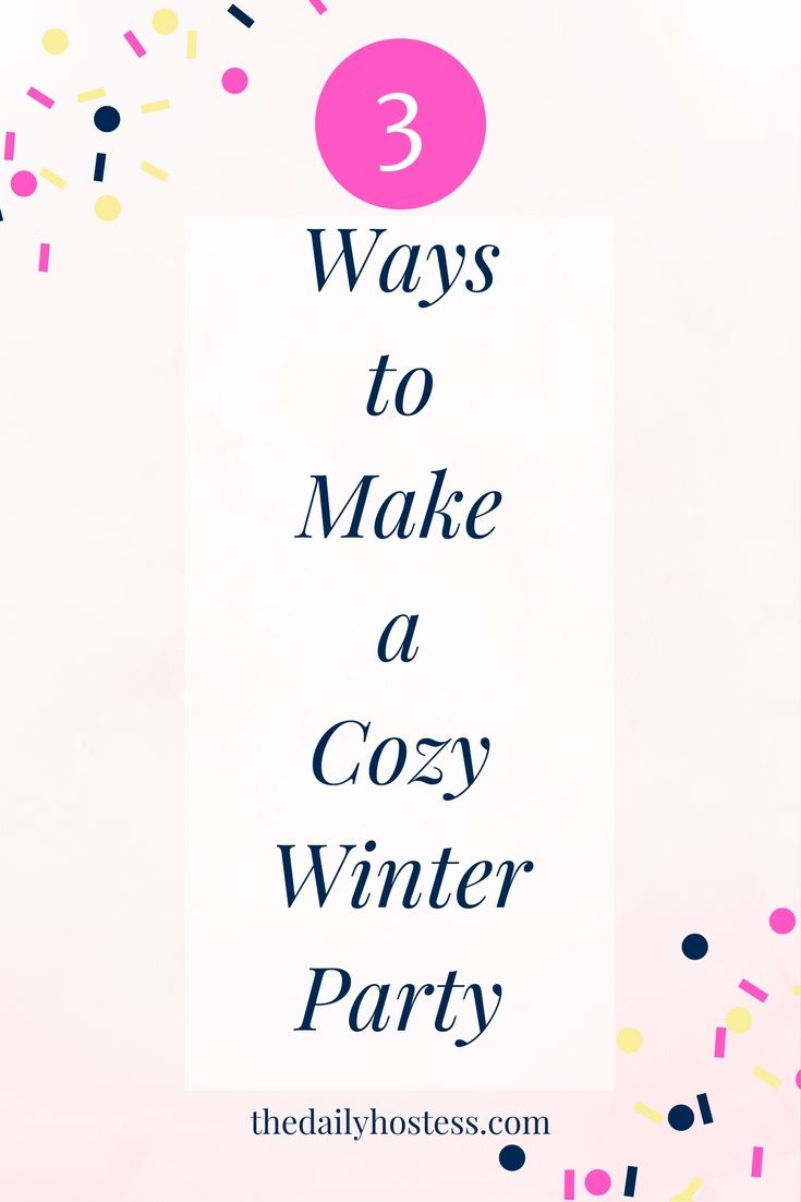 Cozy Party Ideas, Girls Night In, Entertain at home in a cozy ...