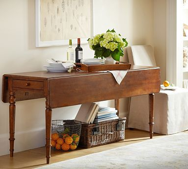 Drop Leaf Console Potterybarn Omg This Is Exactly What I Want In