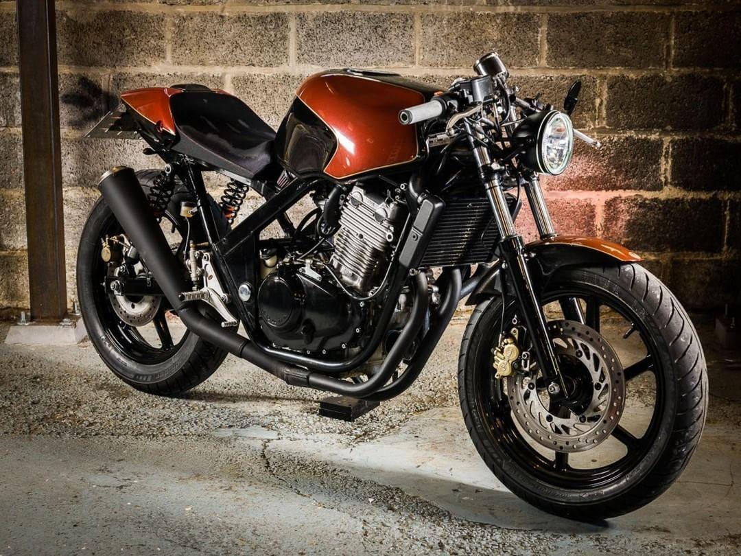 Honda Cb500 Cafe Racer By Barn Built Bikes Motorcycles Caferacer