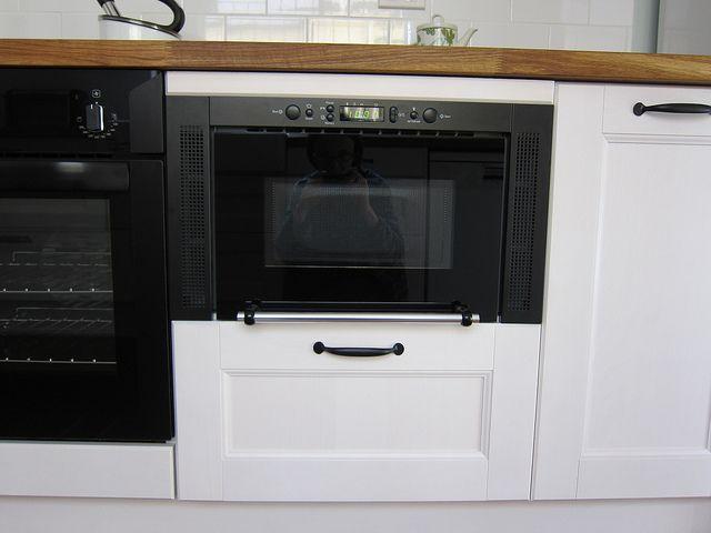 Snabb MW3 Microwave | Base cabinets, Kitchen peninsula and Kitchens