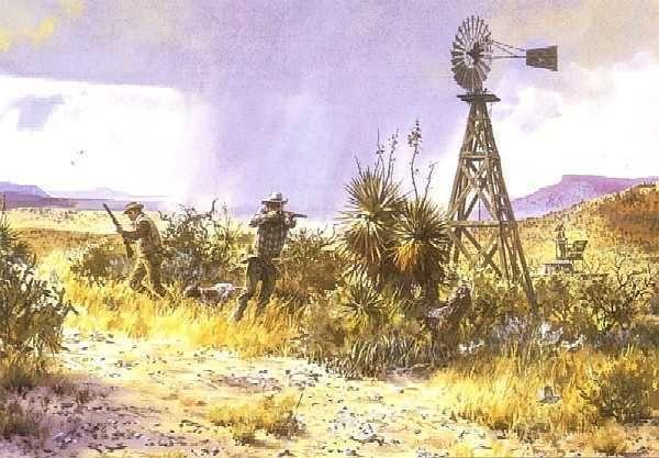 Any Way You Can John Cowan Texas Scaled Quail Hunting Scene
