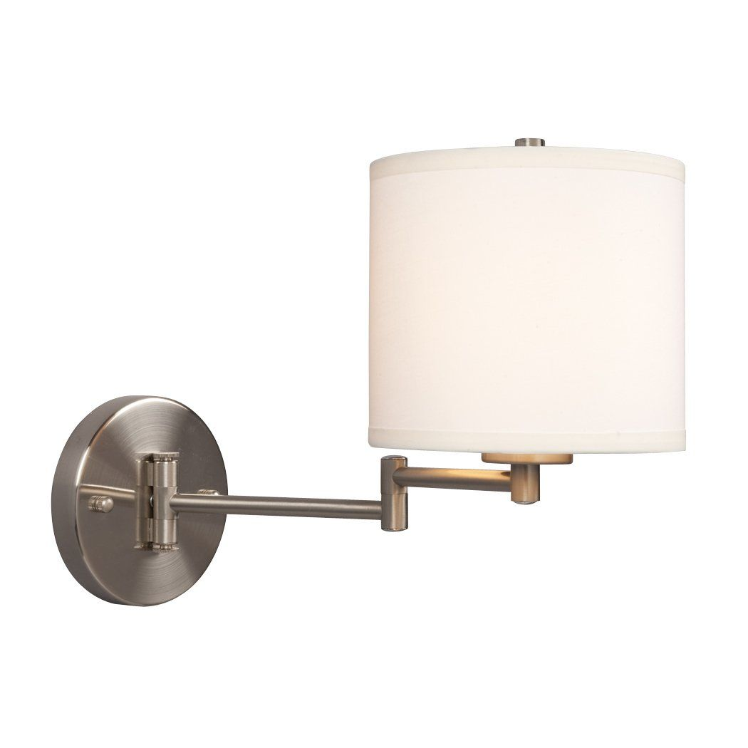Galaxy Lighting 213041bn Ansley Swing Arm Wall Sconce Brushed Nickel Swing Arm Wall Sconce Swing Arm Wall Lamps Adjustable Wall Sconce
