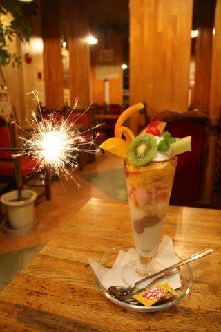 鳥取県の食情報を発信!「鳥取食録」鳥取の楽しみは食にあり!::異色パフェに驚愕!「CAFF DE チャップリン」