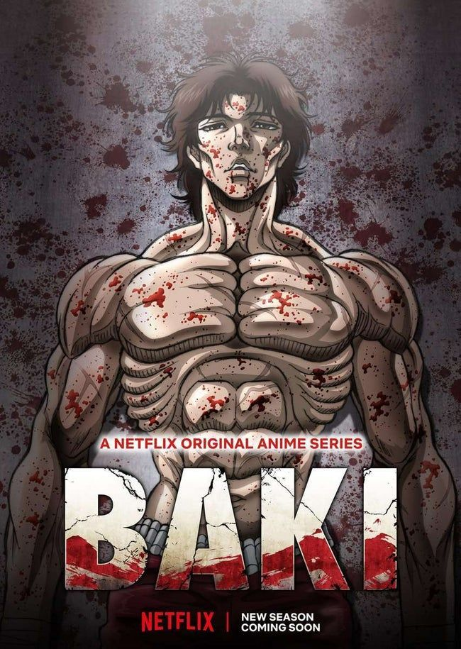 Baki Anime's 2nd Season Ending Video Previews Ena Fujita's