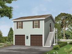 Kalinda Garage Apartment | Garage apartments, Garage plans and ...