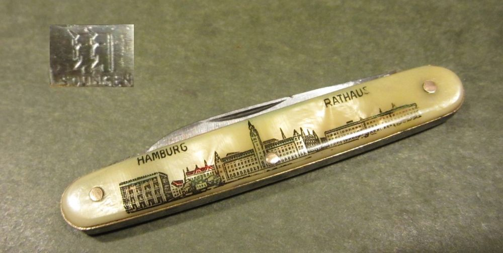 Hartkopf Amp Co Solingen Germany Hamburg Rathaus German Old