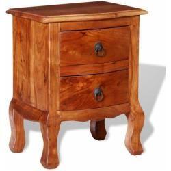Tables de chevet en bois massif