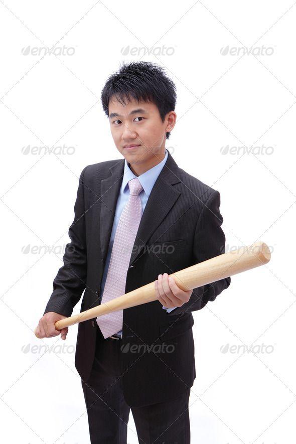 Business asian man take baseball bat with confident face ... action, adult,  asia, asian, baseball, bat, batsman, batter, black, business, businessman,  ...