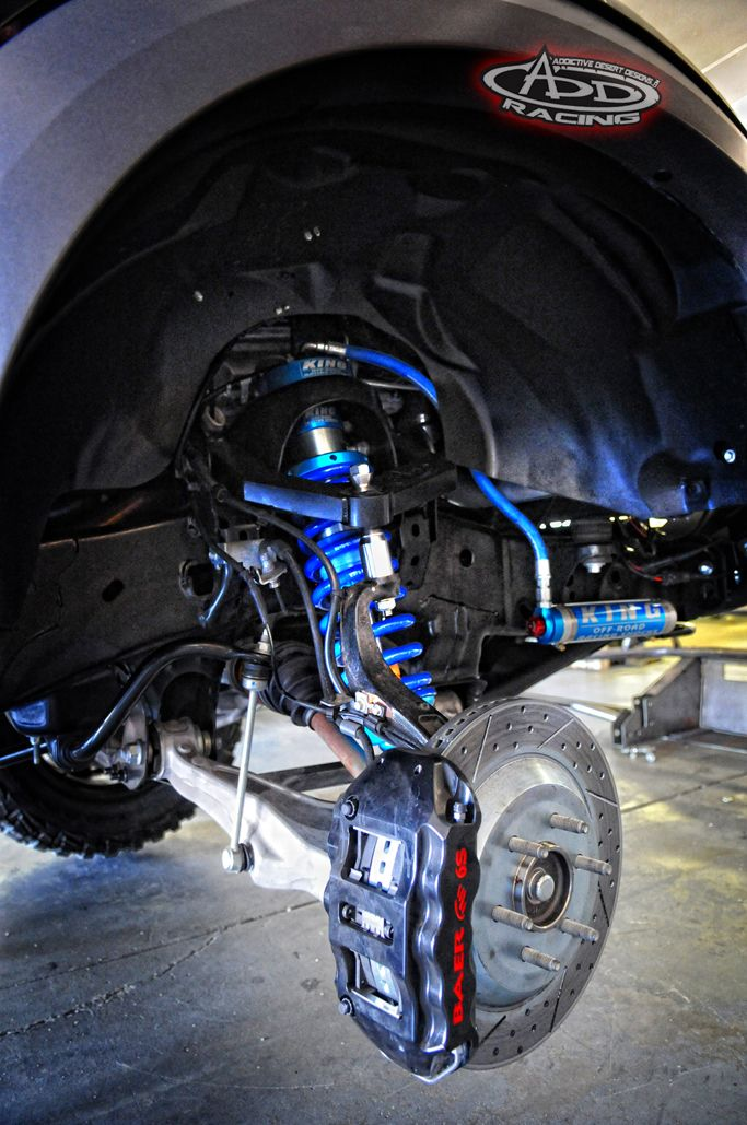 Add Front Suspension Kit On The Luxury Performance Raptor