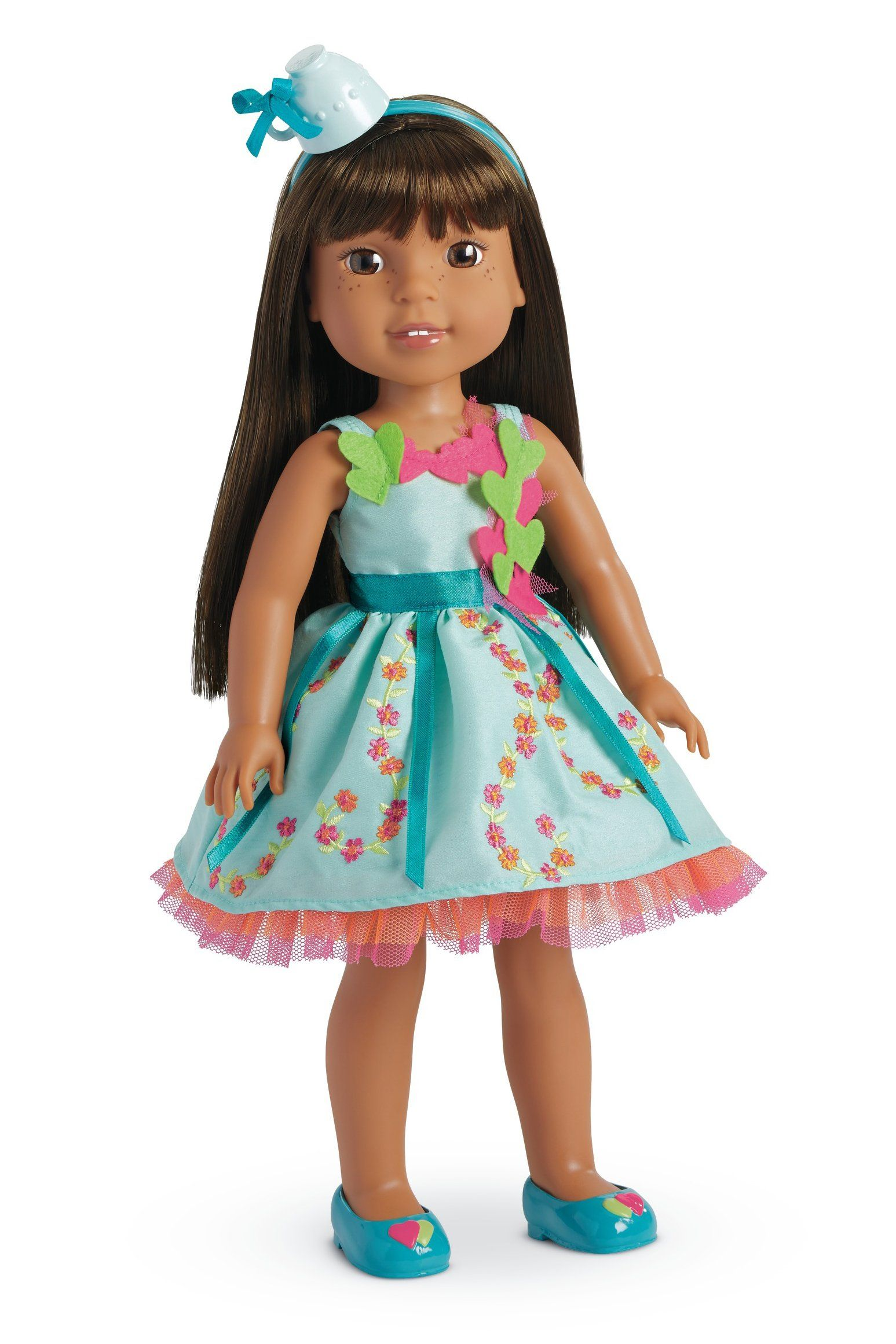 American Girl Welliewishers Garden Teatime Costume Outfit   Blue ...