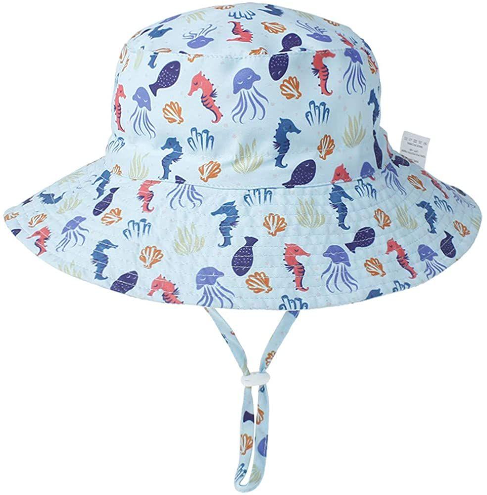 Amazon Com Bonvince Baby Sun Hat Toddler Summer Beach Upf 50 Sun Protection Bucket Hats For Kids Girls And Boy Baby Sun Hat Baby Summer Hat Summer Hats Beach
