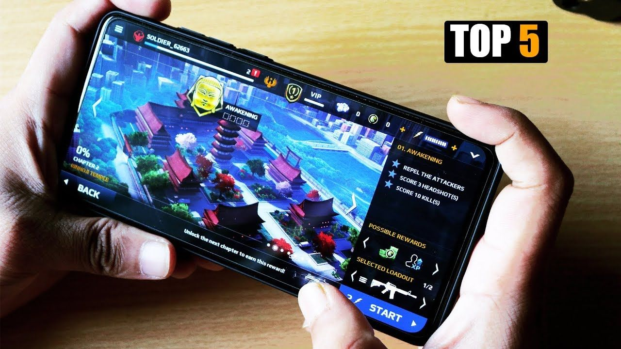 Top 5 Most popular games of all times for you android