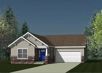 Plan 18274BE: Ranch Home Plan with Open Living Area  #18274BE #Area #Home #Living #Open #Plan #Ranch