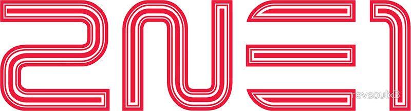 2NE1 Logo   Sticker   Firmas Nat's♥ en 2019