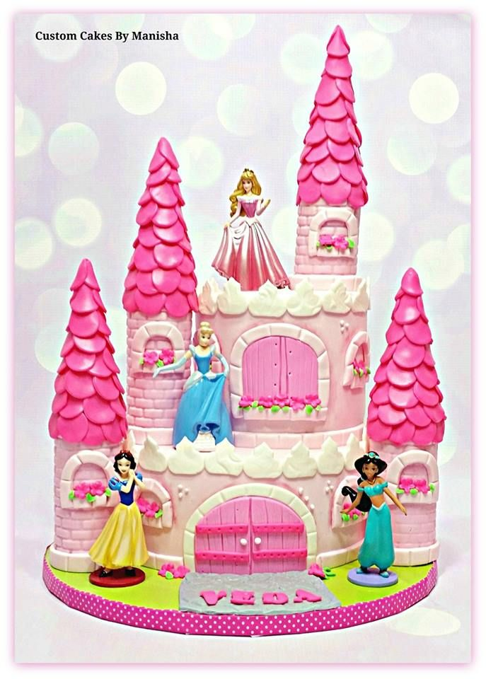 Manisha Birthday Cake Images : princess castle cake! Cakes By Manisha Pinterest ...