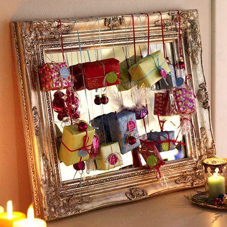 adventskalender basteln sch ne ideen zum selbermachen. Black Bedroom Furniture Sets. Home Design Ideas