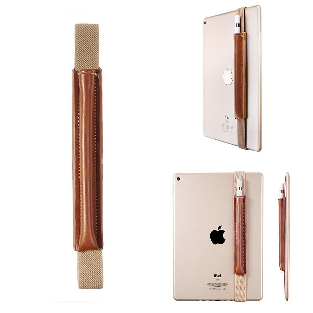 Slim PU Leather Pencil Stylus Pen Holder Sleeve Protective Case ...