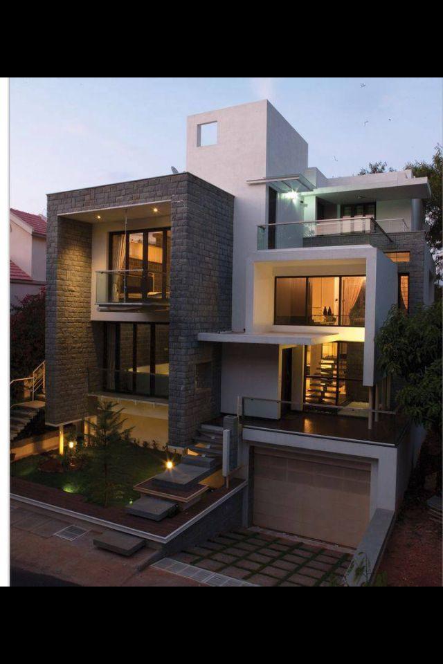 49 Most Popular Modern Dream House Exterior Design Ideas 3: Facade House, House Designs Exterior, Modern House Design